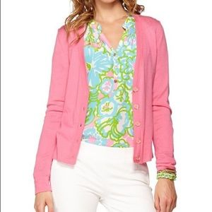Lilly Pulitzer melody cardigan sweater